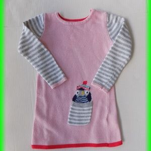 Baby Boden Girl Sweater Dress Size 2-3 Years